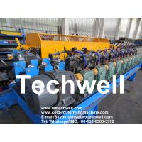 Quality 70mm Shaft Cr12 Blade 0.7mm Stud Roll Forming Machine for sale