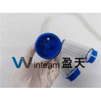 China PP Clamps Sterility Test Canister Pressure Resistance With Membrane Filtration Method on sale