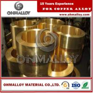 0.8 * 150mm Copper Based Alloys Brass Strip / Tape Cu70Zn30 C26000 For Cartridge Case