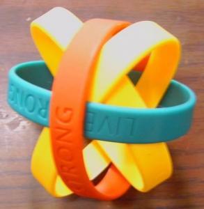 Silicon Rubber Wrist Band