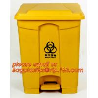 China Trash Bin, Waste Bin/can, Garbage Can/bin with swing lid Dustbin For Room, EURO style outdoor plastic trash bin/waste bi on sale