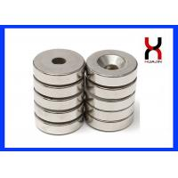 Quality Color Zinc Round Countersunk Rare Earth Magnets For Mounting Screws for sale