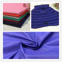 Quality Wear Resistance Soft Nylon Fabric , 380T Breathable PU Coated Nylon Fabric for sale