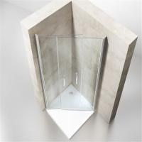 Quality Low Price Bathroom Simple Sliding Curved Shower Enclosure for Sale for sale