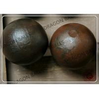 Quality Good Toughness Forged Grinding Steel Ball Reliable With CE / ISO Certification for sale