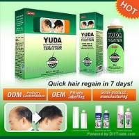 Quality Hair extension solution/YUDA pilatory prevent hair loss promote hair growth for sale
