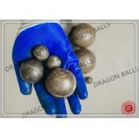 Quality 12mm - 150mm High Chrome Steel Grinding Media Balls Good Wear Resistance for sale