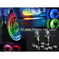China Car Auto Motorcycle LED Tyre Tire Valve Caps Neon Light Bike Car LED Lamp on sale