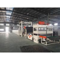 Quality Carpet Tile Bitumen Production Line Or Continuous Operation Separate Cutting Control for sale