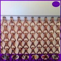 Quality Aluminum Chain Curtain for  Wall and Ceiling Decoration, for door as curtain for sale