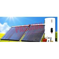 China Heat Pipe Solar Water Heater Winter , Copper Coil Solar Water Heater For House on sale