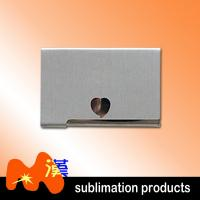 China Silver Personalized Business Card Holder For Desk / Metal Unique Business Card Holders on sale