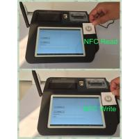 China Swipe Card Wireless POS Terminal , 7inch Color TFT LCD Touch Screen POS System wholesale