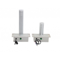 Quality 700-2380CMH 22cm 8w Air duct plug in UVC Kit for central duct ac or AHU air disinfection and air purify product for sale