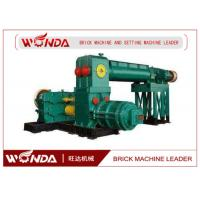 Quality Automatic Clay Brick Making Machine , Double Stage Brick Extrusion MachineDurable for sale