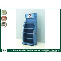 Quality Red Customized Motor Oil Display Rack Shoe Racks 750mm*450mm*1800mm for sale
