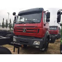 Quality Commercial BEIBEN 6X4 Cargo Truck Chassis EURO II Fuel Tanker Capacity 400L for sale