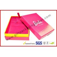 Quality Fancy Jewellery Packaging Boxes For Valentine Gift, Pink Rigid Paper Gift Packaging Boxes for sale