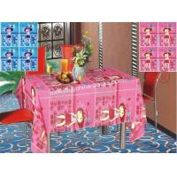 Quality Oblong Children Printed Pattern  PE Table Cloth for sale