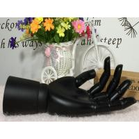 China Display Mannequin Wooden Hand For Garment And Fashion(Black) on sale