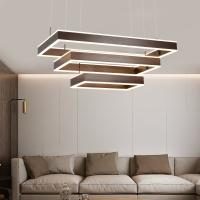 Quality Square hanging light fixture Led Pendant lamp For Indoor home Lighting (WH-AP-12) for sale