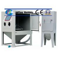 Quality CE Certified Sand Blasting Unit , Manual Sandblast Cabinet Customized Fixed Turntable for sale