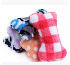 Quality Plush toys for pets plush pet toys plush bones for sale