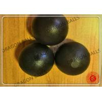 Quality Low Breakage Forged Grinding Balls , Hot Rolling Steel Balls For Ball Mill for sale
