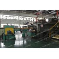 Quality 3 Strands Horizontal CCM Continuous Casting Machine For 95x25 Red Copper Pipes for sale