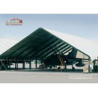 Special Fabric Aircraft Hangar Tent 30M Width With Glass Wall