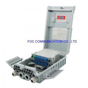 Quality FTTx 1×16 PLC SC UPC Cassette Fiber Splitter Box FATM-0416L for sale