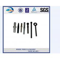 Quality ZhongYue Azerbaijan railway project carbon steel rail bolt and nut for sale