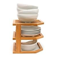 China beautiful totally small modern kitchen sink wooden bamboo dish rack on sale