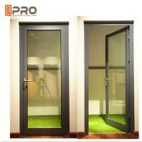 Quality High Strength Durable Aluminium Hinged Doors With PVDF Surface Treatment for sale