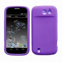 Quality Cellphone Cases for ZTE N9500, Made of Silicone and PC Materials, Available in Various Colors for sale