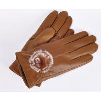 China Genuine Leather Gloves - Sheep Skin Fleece Lining Gloves on sale