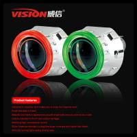 Quality Hot Selling Hid Bi-xenon Projector Lens Light Ccfl Angel Eyes Six color Nissan Tiida for sale