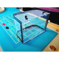 Buy cheap Casino Roulette Chip Tray Roulette Table Poker Chips Box Acrylic Roulette Chip Case from wholesalers