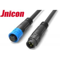 Quality M12 IP67 Waterproof Audio Connector 3 Pin PA66 Material For Power Application for sale