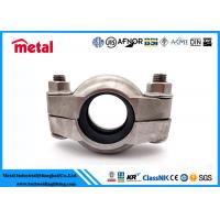 "Buy cheap Suplex Duplex 2507 Alloy Steel Pipe Fittings Clamp Coupling 77C 1.5"" 48.3MM from wholesalers"