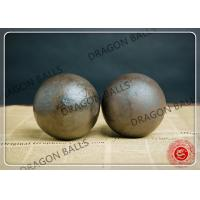 Quality B2 50mm Grinding Balls Mining , Hot Rolling Steel Balls 58-63 Hardness for sale
