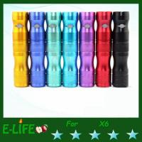 Quality Stable Performance X6 Kit ecig New Variable Voltage electronic cigarette with v2 vaporizer for sale