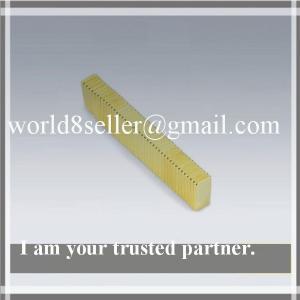 China Blocks neodymium strong magnets Permanent NdFeB Rare earth magnet 20x5x2mm on sale
