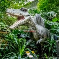 China Theme park garden decor fiberglass dinosaur sculpture on sale