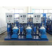 China Fuel Oil Handling System Power Plant Diesel Oil Separator Unit 6000 L/H on sale