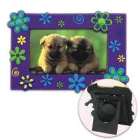 Quality Photo magnets,magnetic photo frames for fridge,picture frame supplies for sale