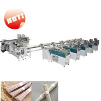 Quality Omron PLC Noodle Packaging Machine / Bundle Packing Machine 25-35 Bags/Min for sale