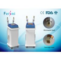 Quality Forimi radiofrequency microneedle 5Mhz fractional rf microneedle machine for spa/clinic for sale