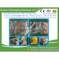 Quality Plastic part counting and packing machine, plastic part pouch making machine, plastic part weighting and packing machine for sale