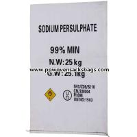 Quality Professional Anti-corrosion PP Woven Bags Sacks for Packing Sodium Persulfate for sale